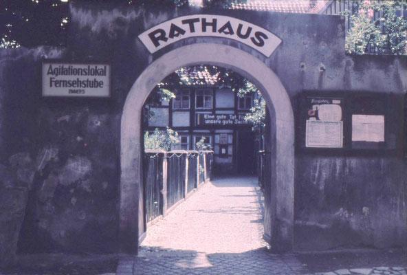 Die alte Pfarre/Rathaus von außen