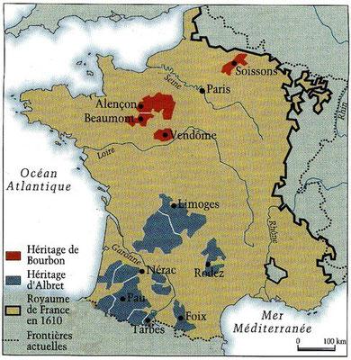 possession d'Henri III de Navarre qui deviendra roi sous le nom d'Henri IV