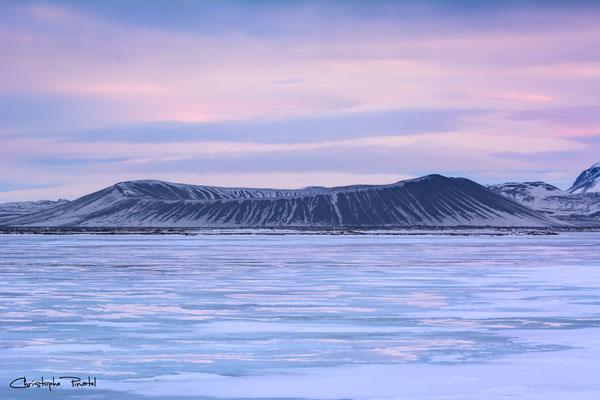 Photo 9 - Le cratère pastellisé