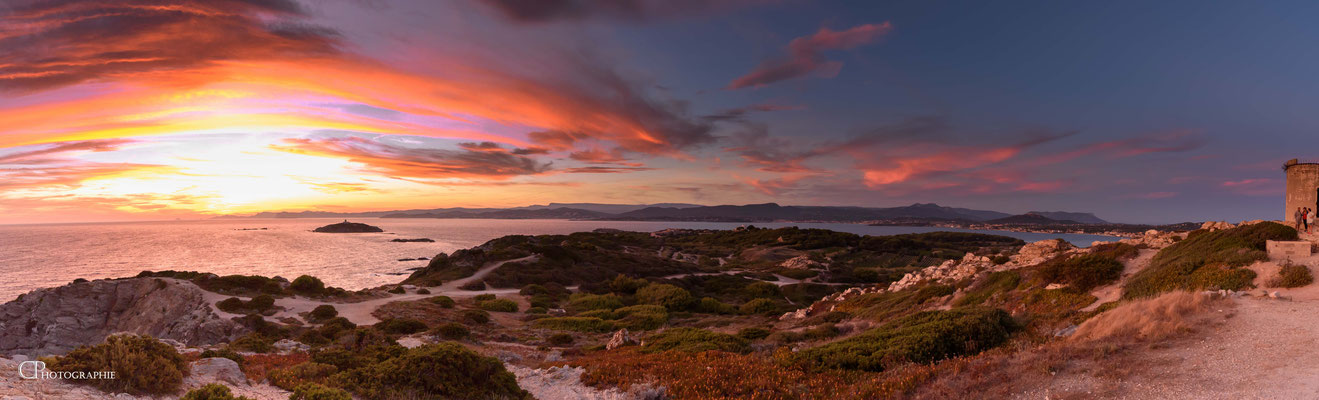 Photo 4 - Féérie d'un coucher de soleil - Les embiez (83)