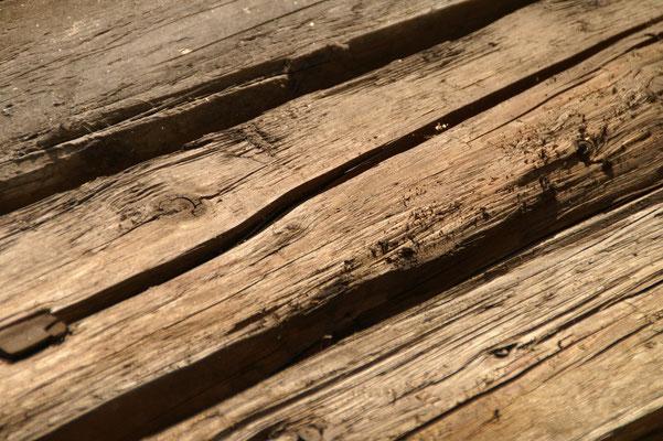 Kantholz gehackt - Detail