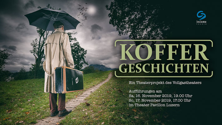 "Cover Shooting | Vollgastheater ""Koffergeschichten"" | 2019"