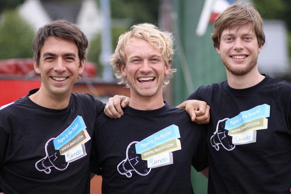 Matthias Henze, Fridtjof Detzner e Christian Springub