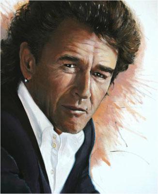 Portrait Peter Maffay 2008, Öl auf Leinwand 60 x 80 cm