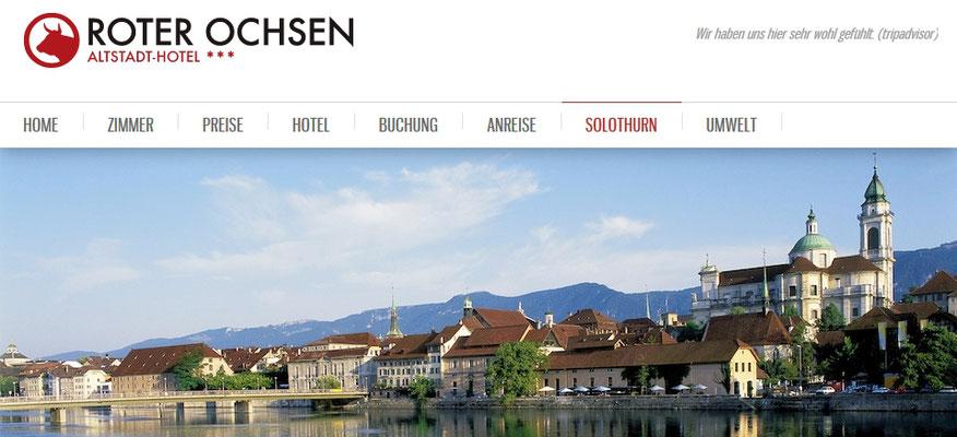 Altstadthotel Solothurn - Toppartner Roter Ochse