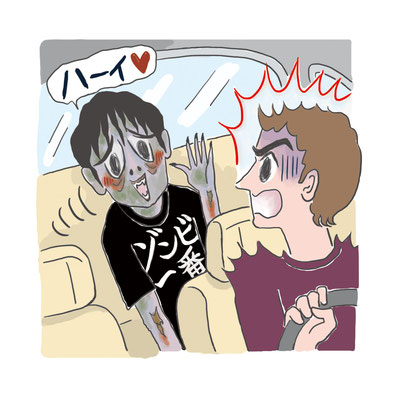 【会員誌/2017】「スカパーヨムミル!」特集記事イラスト