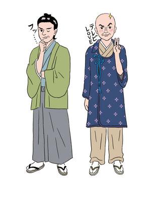 【会員誌/2015】「スカパーヨムミル!」特集記事イラスト