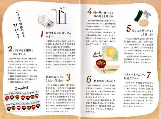 【ムック/2019】「体にいい!三ッ星みそ汁」(KADOKAWA)本文イラスト