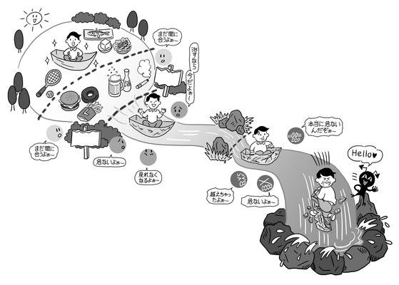 【書籍/2019】「どんな薬よりも効果のある治療法」(主婦の友社)本文イラスト