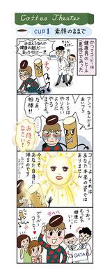 【ムック/2013】「1日3杯が効くコーヒーダイエット」(主婦の友社)4コマまんが