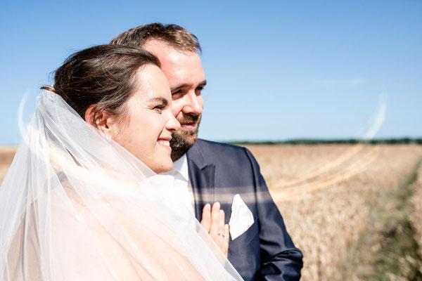 Brautpaarshooting im Sommer