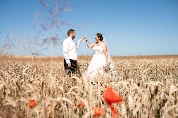 Brautpaarshooting in der Lüneburger Heide