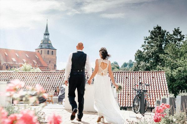 Hochzeitsfotografie am Wyndberghotel in Lüneburg