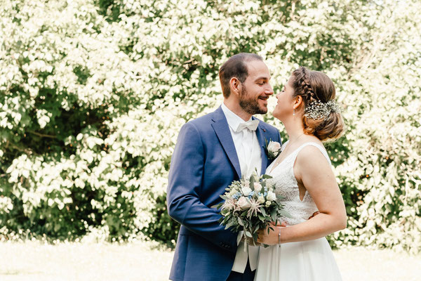 Hochzeitspaar beim Brautpaar Shooting