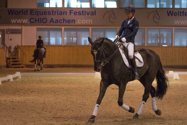 CHU Aachen 2015 - Halbfinale Dressur