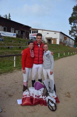 CHU Marburg 2014 - 2.Platz mit der Mannschaft