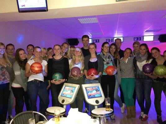 Bowling mit der Reitgruppe!