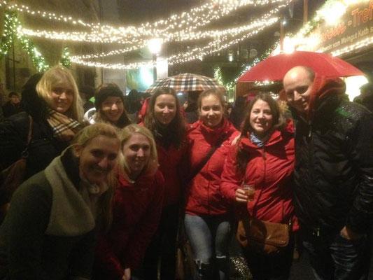 Zu Besuch bei der Aachener Reitgruppe auf dem Weihnachtsmarkt!