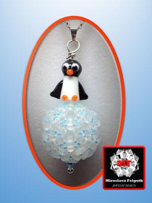 Pinguin auf der Eisschorle