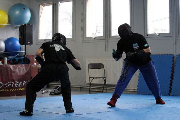 combat couteau