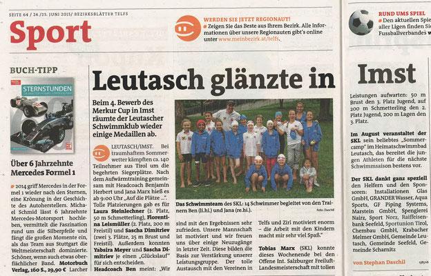 Bezirksblätter v. 24./25. Juni 2015