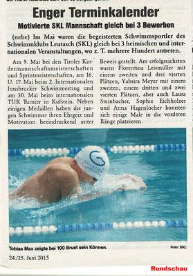 Rundschau 24./25. Juni 2015