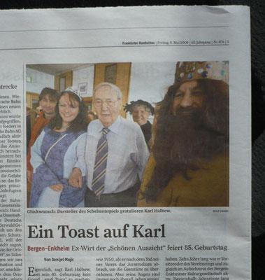 Der Artikel in der Frankfurter Rundschau