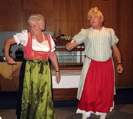 Christa und Hans in Hochform
