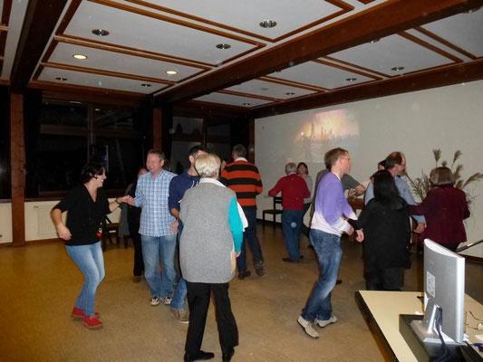 Tanzeinlage bei unserem Abschlussfest
