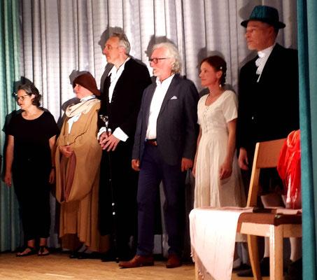 Die Aufführung... kurz ... aber trotzdem mit Lampenfieber