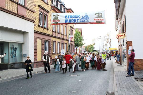 Oben auf der Marktstraße