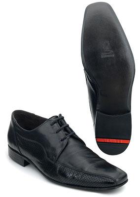 LLOYD Schuhreparatur mit 3/4 Ledersohle vorher nachher