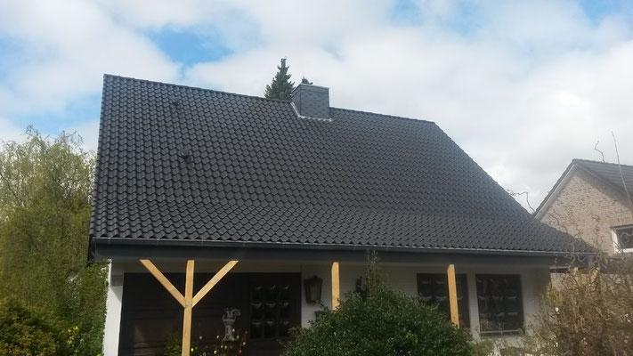nach der Dachsanierung