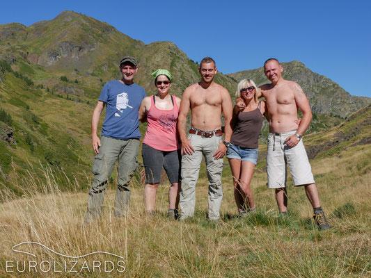 The winning team: Peter, Birgit, Sjoerd, Alison, Paul