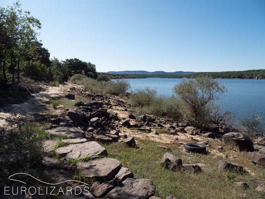 Embalse de la Cuerda del Pozo - an artificial lake at the headwaters of Duoro River