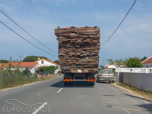 Transporting cork