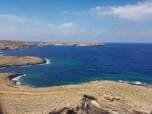 Approaching Lampedusa