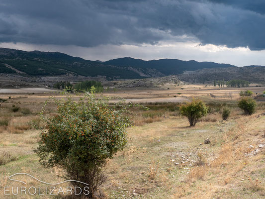 A thunderstorm coming up at Pontones (Sierra de Segura)