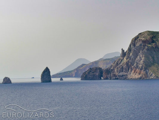 View to Lipari