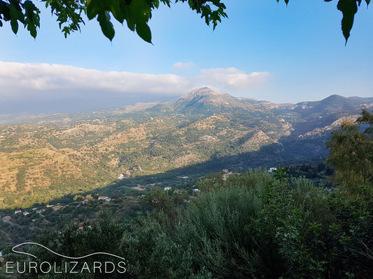 Evening in Central Ikaria