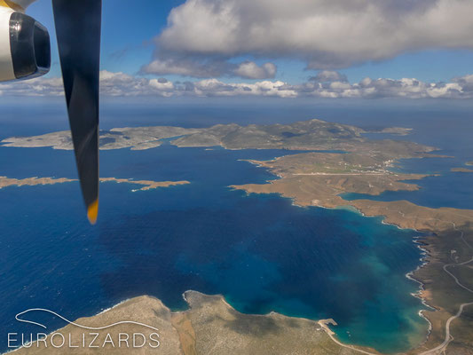 Approaching Astypalaia