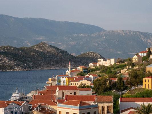 Kastellorizo: View to Turkish mainland