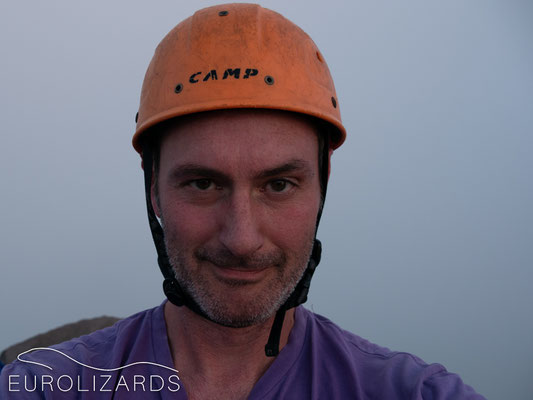 The end of a short career as a volcanologist