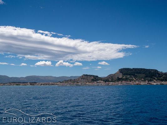 Approaching Zakynthos