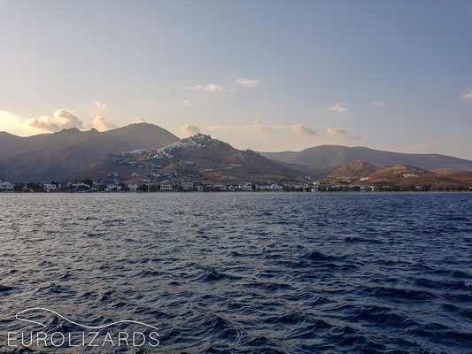 Leaving Serifos