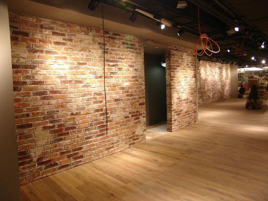 brickwall - levis store frankfurt flughafen