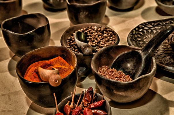 Mit Gewürzen lassen sich nicht nur köstliche Gerichte verfeinern, sie sind außerdem sehr verdauungsfördernd und appetitanregend