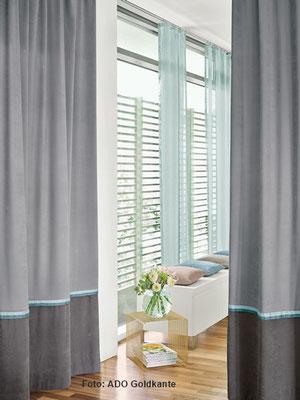 Moderne Verdunklungsvorhänge nach Maß für Schlafräume in Hanau, Erlensee, Rodenbach, Maintal, Gründau, Freigericht