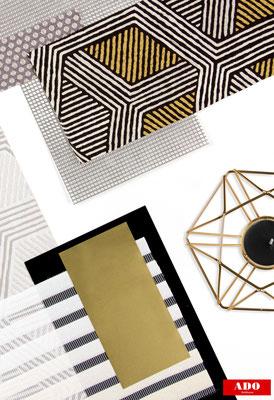 minimalistische Gardinen, moderne Gardinen, Gardinen für den puristischen Wohnstil