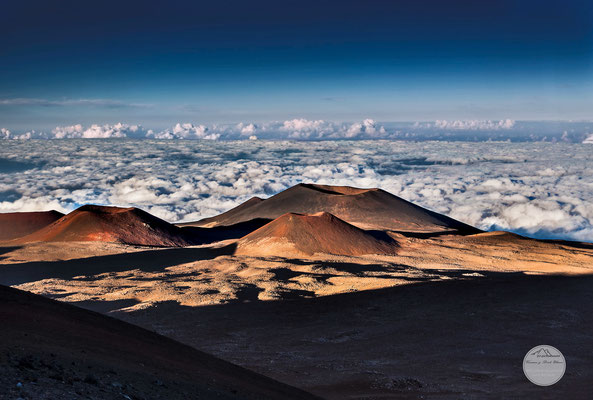 "Bild: cinder of Mauna Kea volcano in Hawaii, ""cinderlandV3""; www.2u-pictureworld.de"